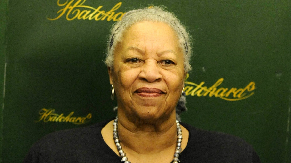 Toni Morrison signs copies of her new book 'A Mercy' at Hatchards, Piccadilly, London