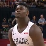 zion williamson will make his nba debut on nba opening night 2019