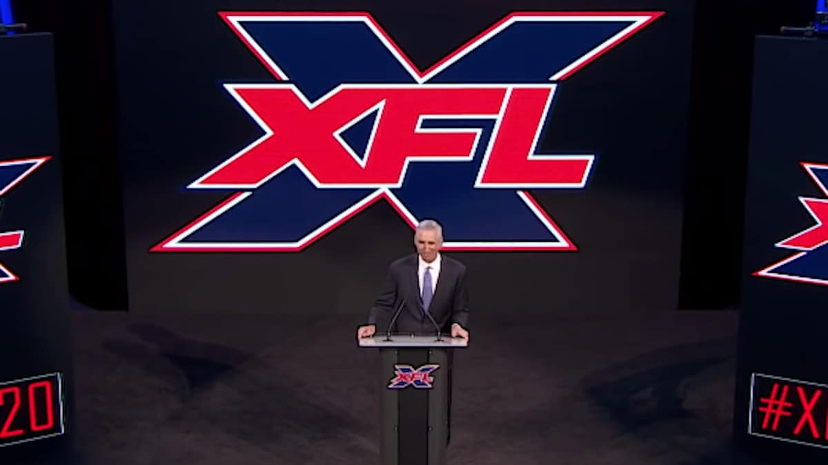 xfl commissioner oliver luck makes announcement of team locations