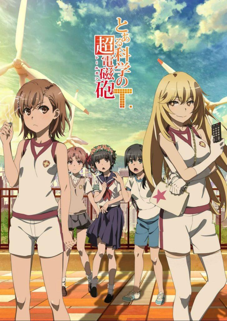 A Certain Scientific Railgun Season 3 Anime Key Visual