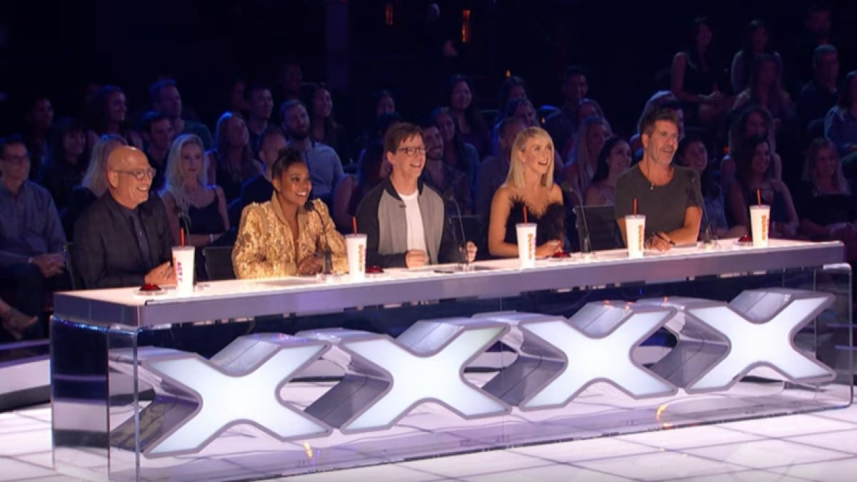 AGT Judges With Sean Hayes