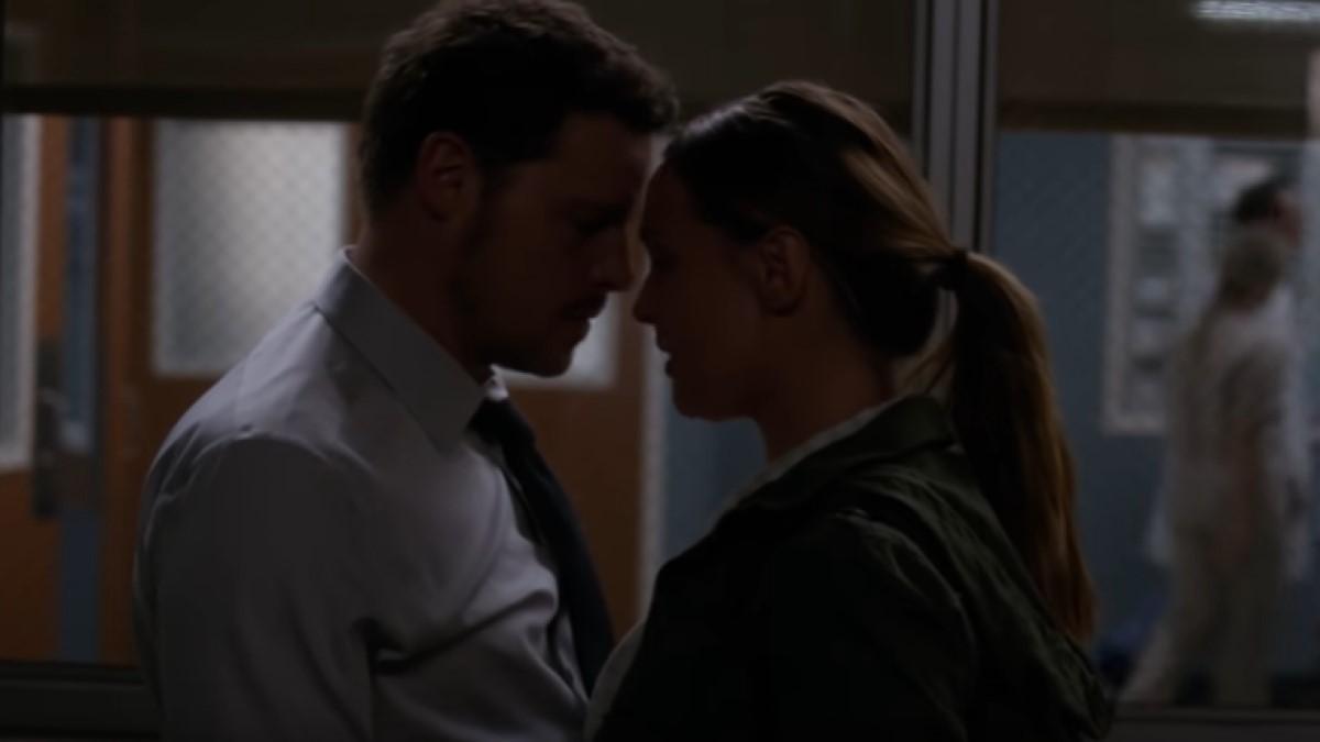 Alex And Jo Grey's Anatomy