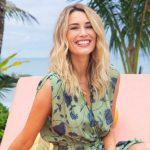 Love Island USA host Arielle Vandenberg is engaged to Matt Cutshall.