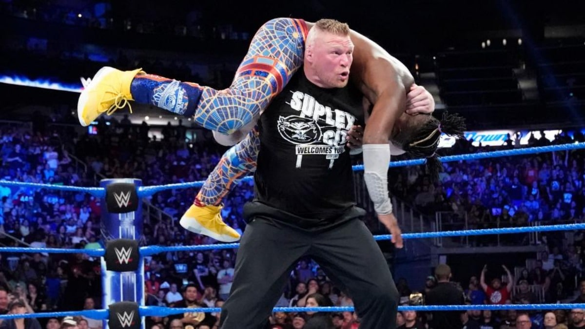 Brock Lesnar coming to SmackDown on Fox: When was the last time Lesnar wrestled on free WWE TV?
