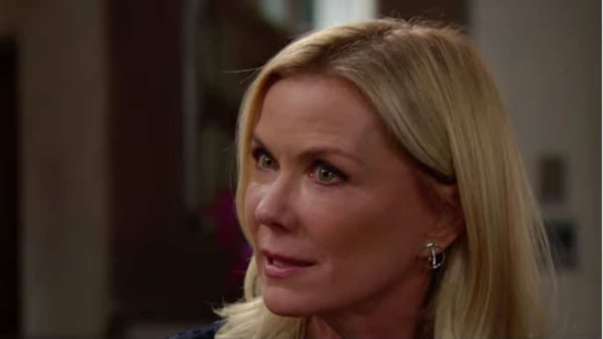 Katherine Kelly Lang as Brooke on The Bold and the Beautiful.
