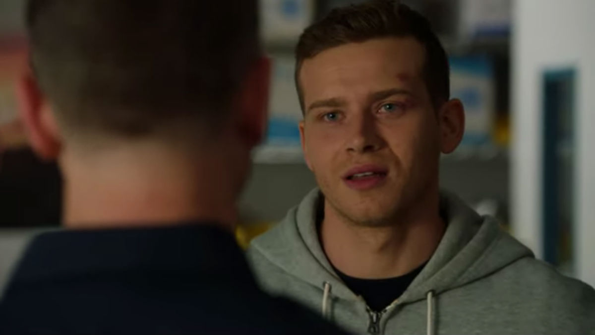 Oliver Stark as Buck on 9-1-1.