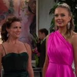 Melissa Claire Egan and Melissa Ordway as Chelsea and Abby on The Young and the Restless.