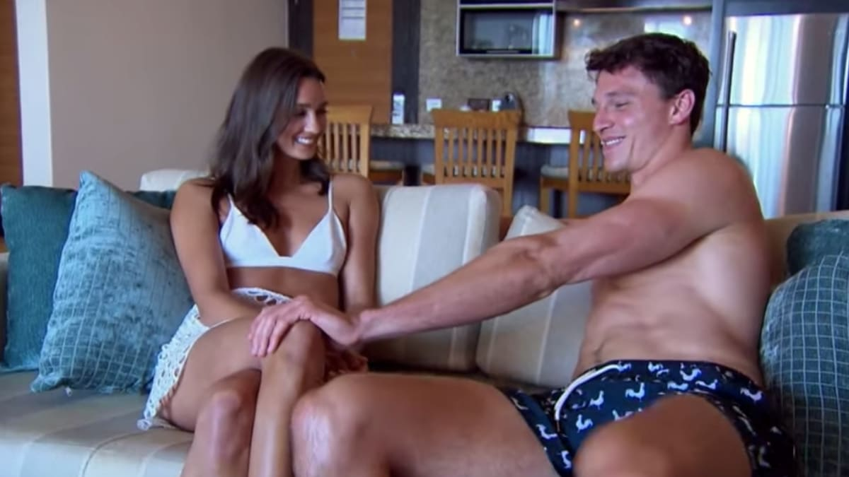 Connor and Whitney on Bachelor in Paradise