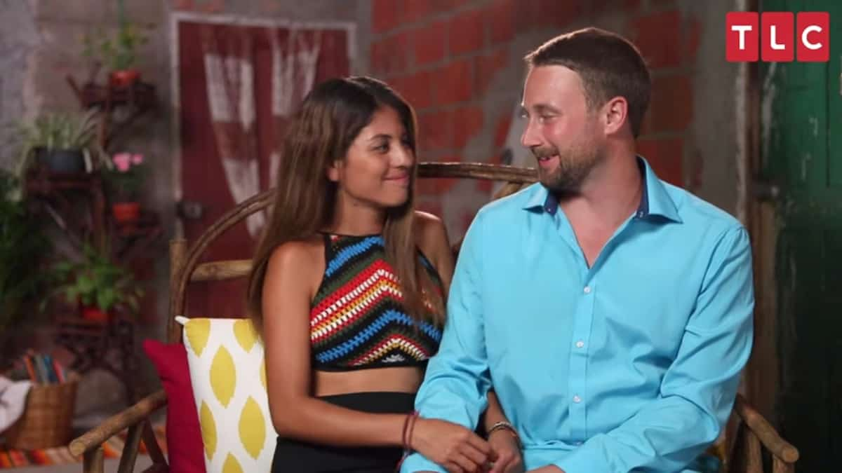 Evelin and Corey on 90 Day Fiance: The Other Way