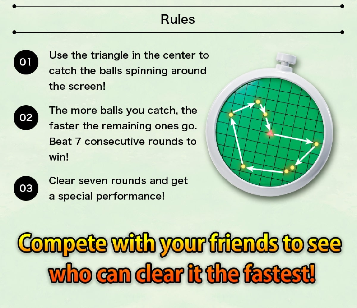 Mini game rules for the Dragon Radar. Pic credit: Tamashii Nations