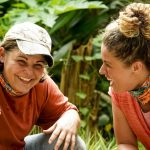 Elaine And Elizabeth On Survivor
