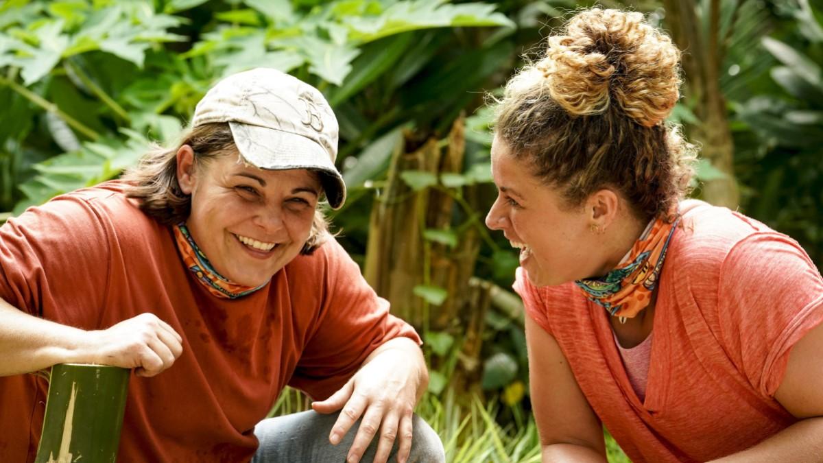 Elaine And Elizabeth On Survivor