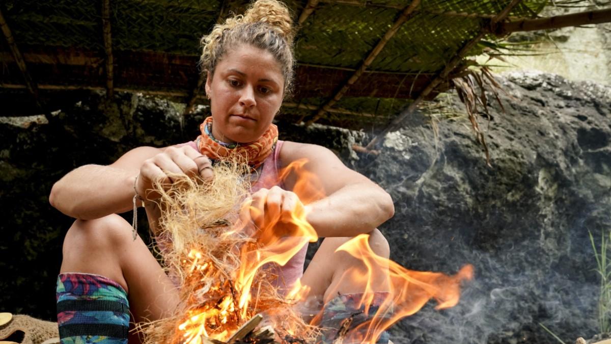 Elizabeth Beisel On Survivor