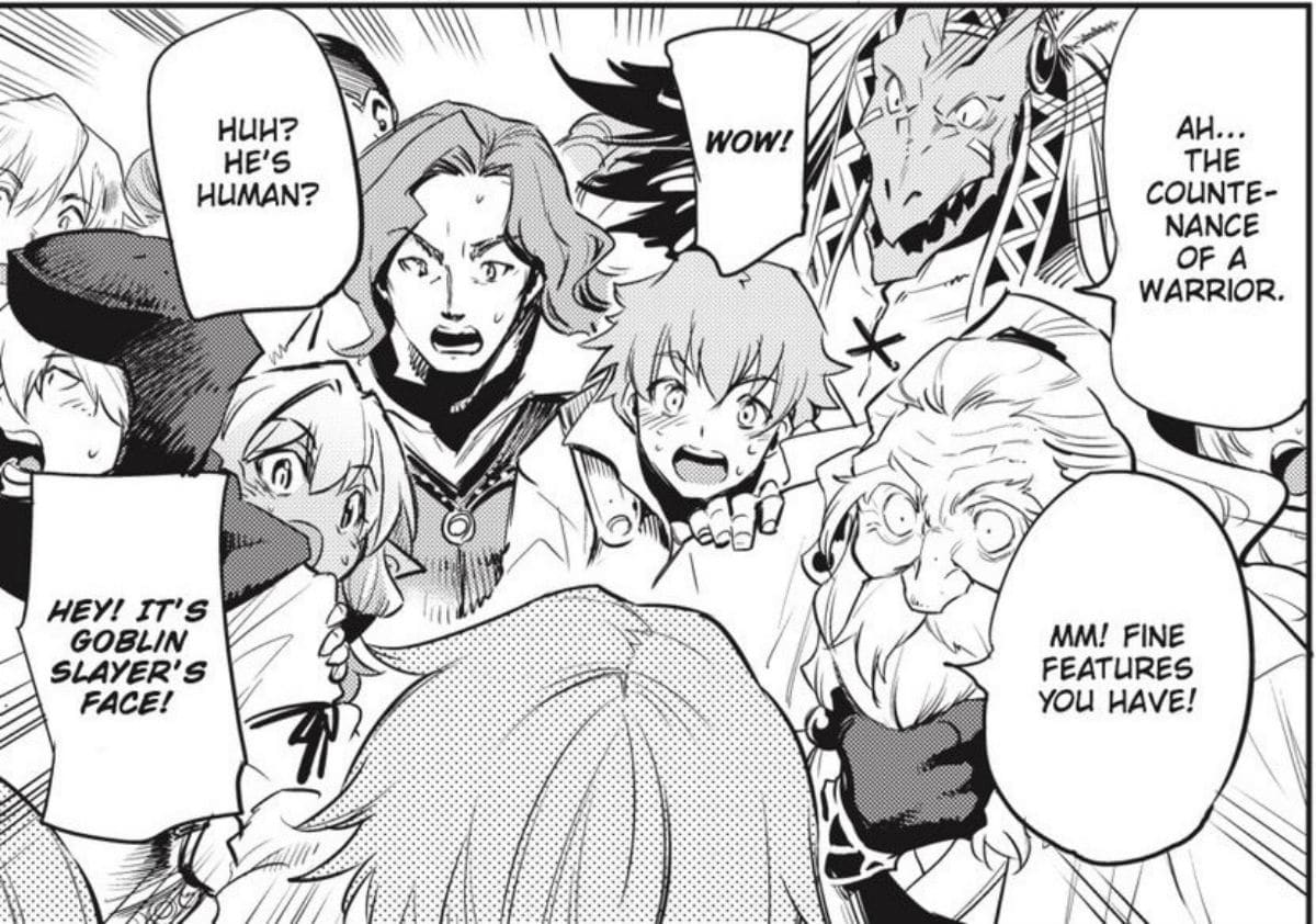 Goblin Slayer Face Reveal Manga