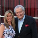 Jennifer Aniston used to cur her father John Aniston's hair for Days of our Lives.