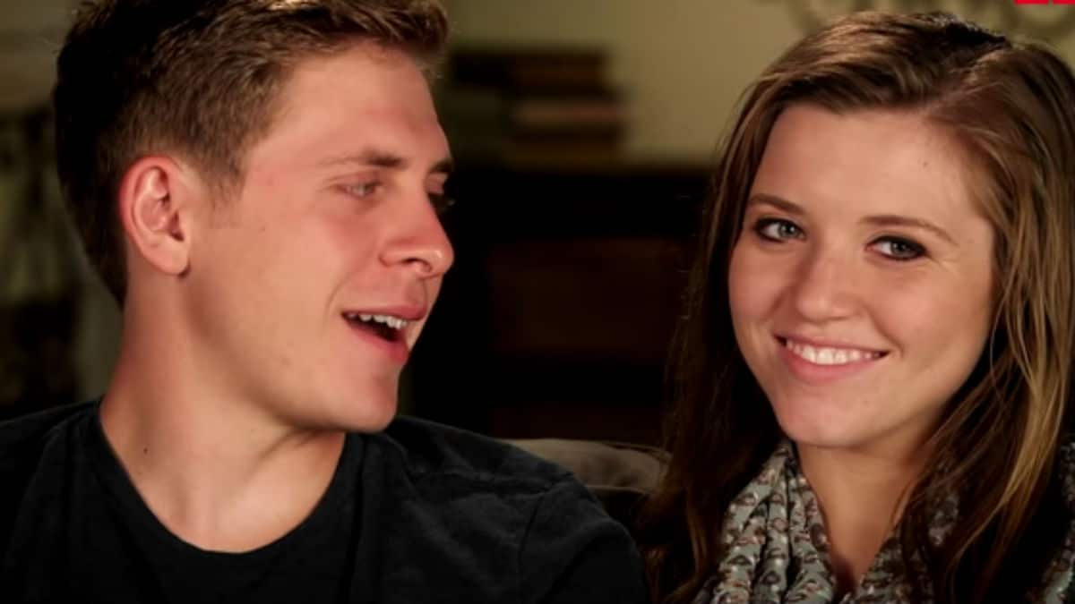 Austin Forsyth and Joy-Anna Duggar during a Counting On.