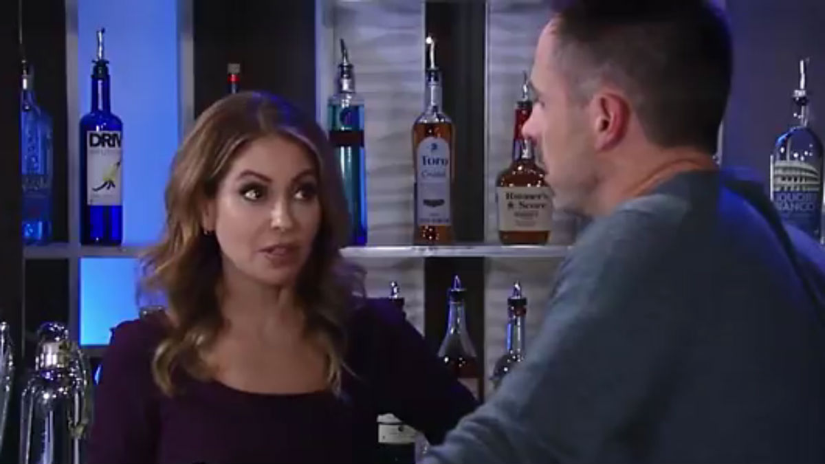 Julian and Olivia on General Hospital.