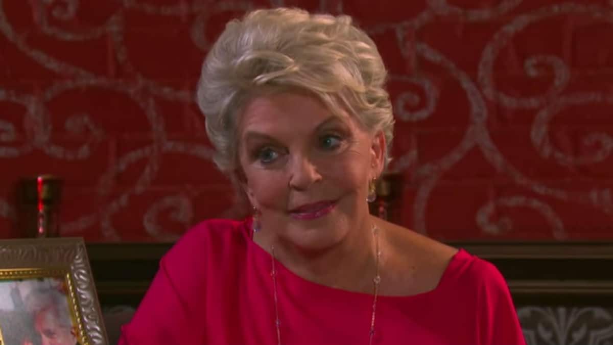 Susan Seaforth Hayes as Julie on Days of our Lives.