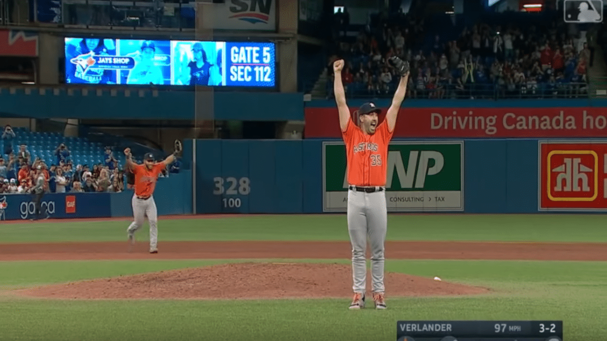 This Crazy Statistic Stands Above Rest In Justin Verlander's No-Hitter