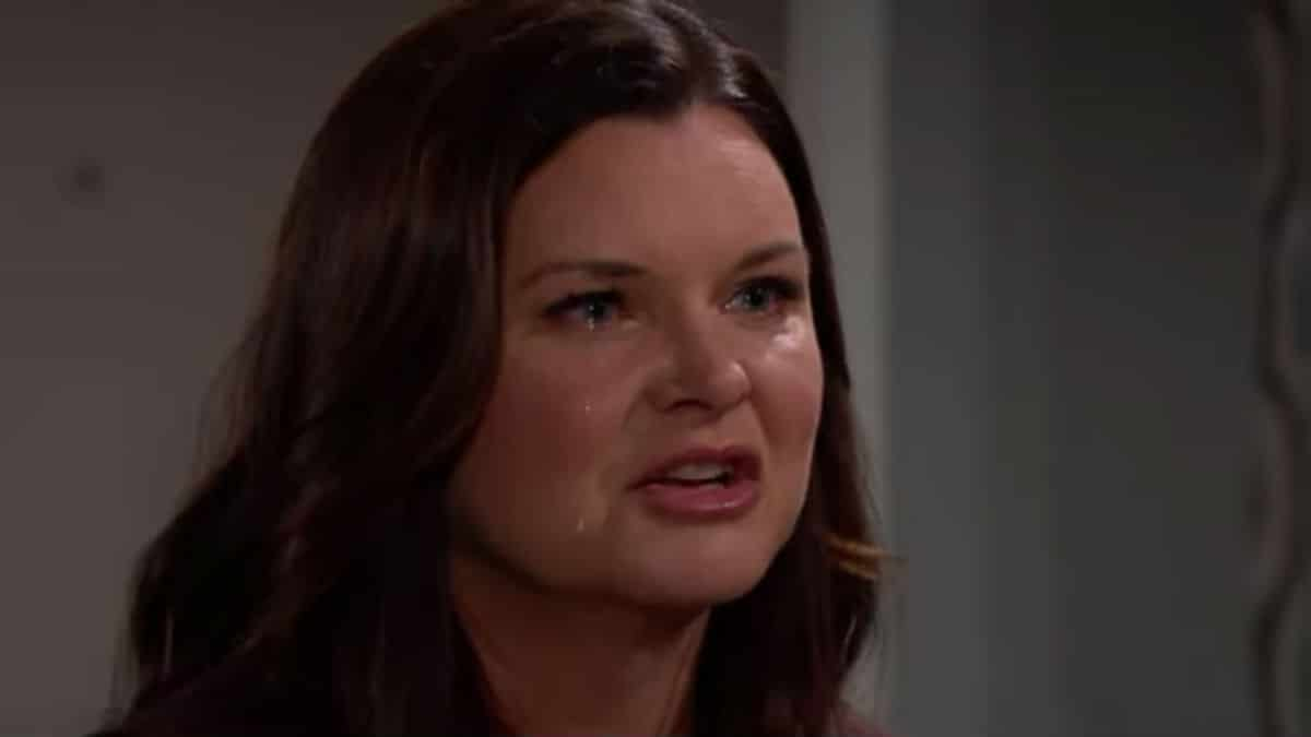Heather Tom as Katie Logan on The Bold and the Beautiful.
