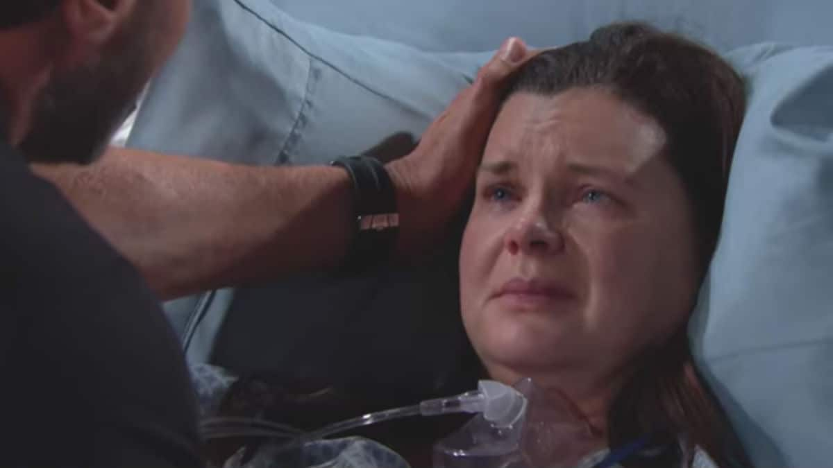 Heather Tom as Katie on The Bold and the Beautiful.