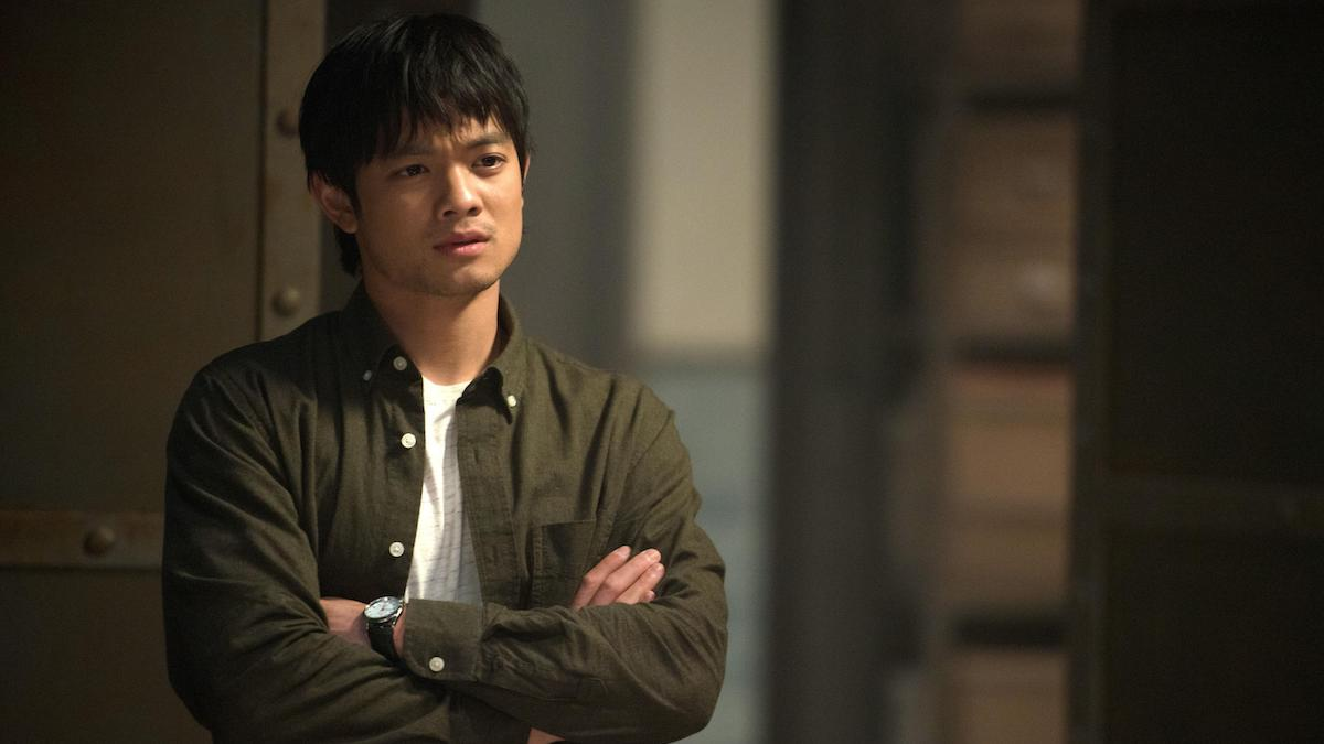Osric Chau as Kevin Tran in Supernatural