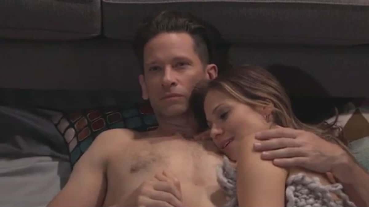 Roger Howarth and Tamara Braun as Franco/Drew and Kim on General Hospital.