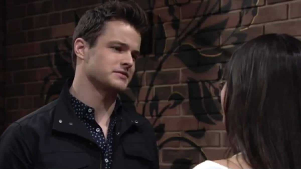 Michael Mealor as Kyle Abbott on The Young and the Restless.