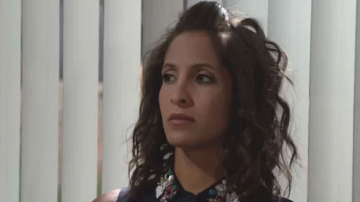 Christel Khalil as Lily on The Young and the Restless.