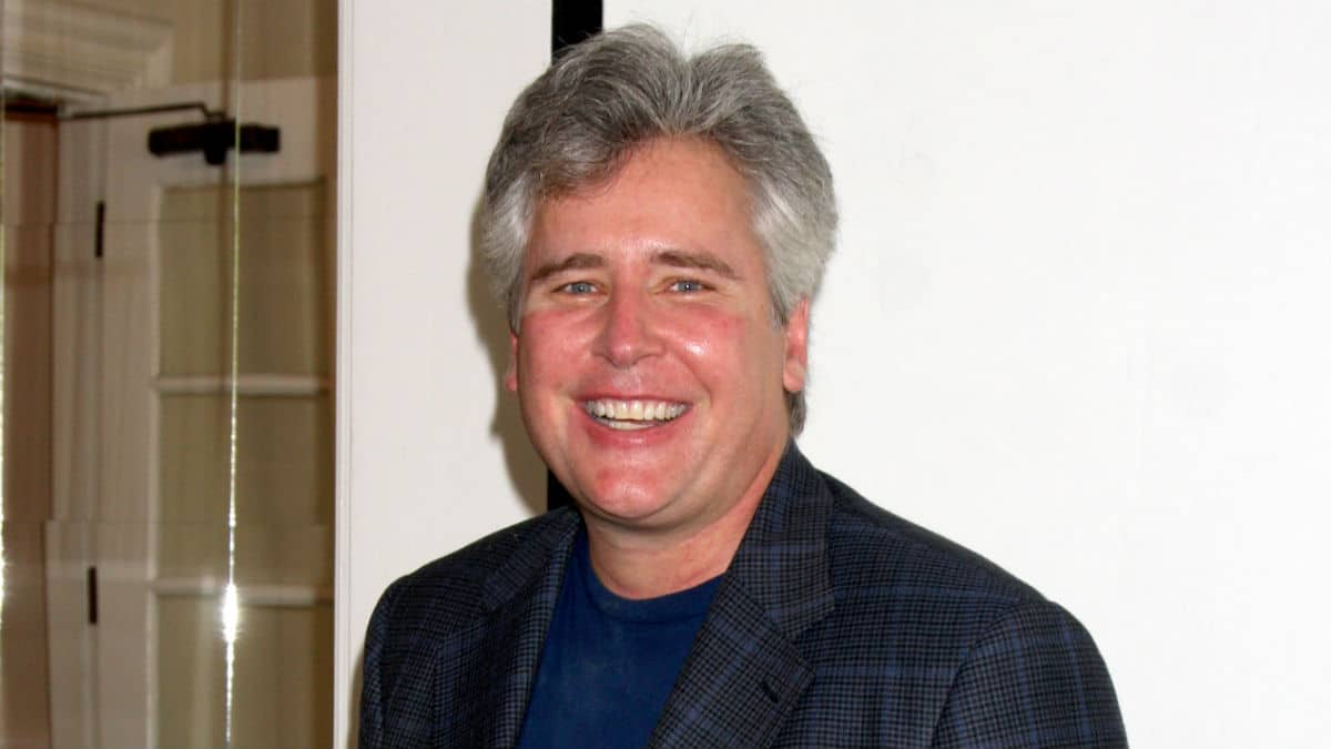 Michael E. Knight at an All My Children fan event.