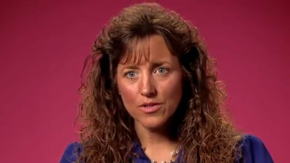 Michelle Duggar during a 19 Kids and Counting confessional.
