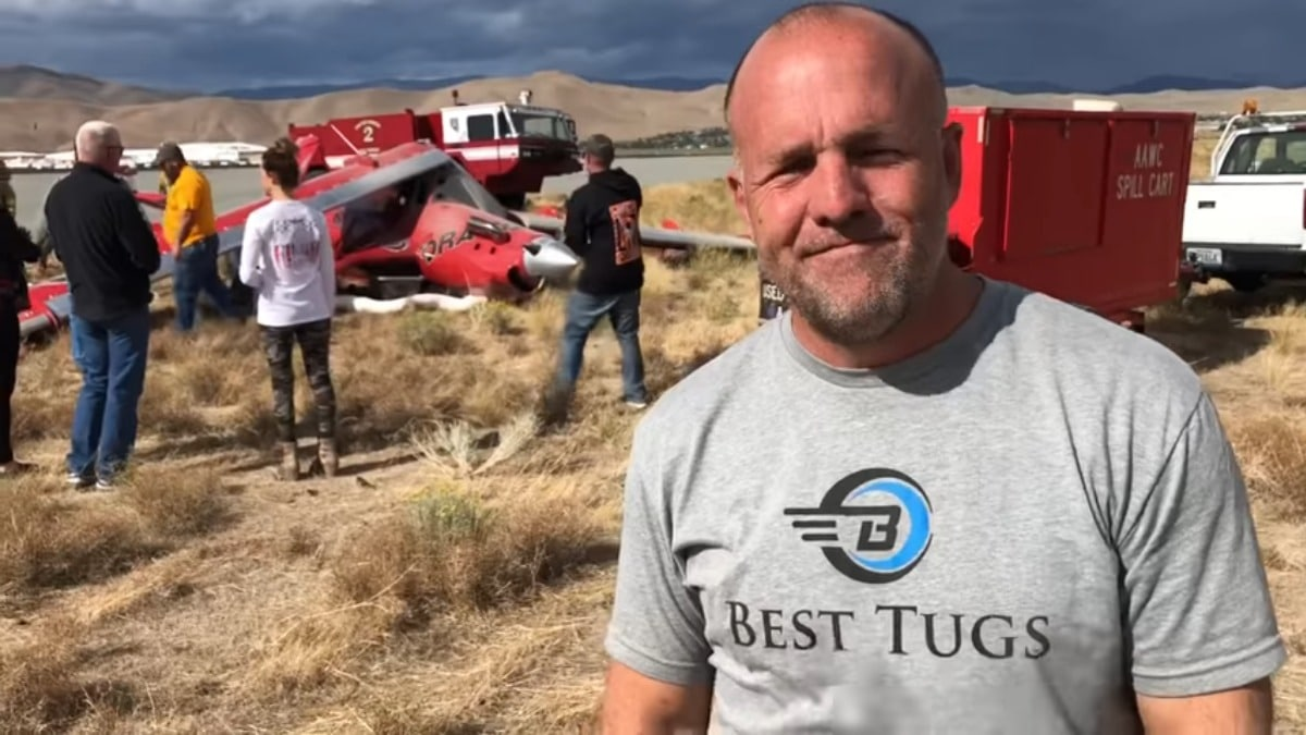 """I want to make sure everyone knows that's what it was — pilot error; pilot error; pilot error. I make no excuses,"" Patey said in his video. ""This is going to haunt me for a long time."""