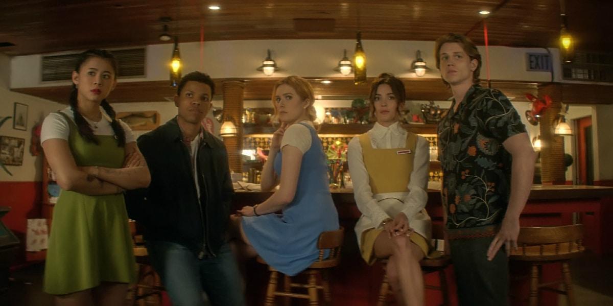 The cast of Nancy Drew