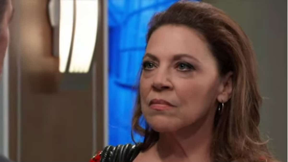 Kathleen Gati as Liesl Obrecht on General Hospital.