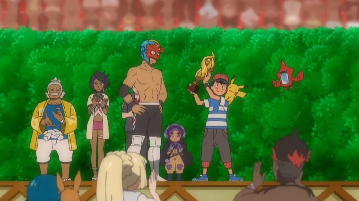 Ash is the new Alola League champion