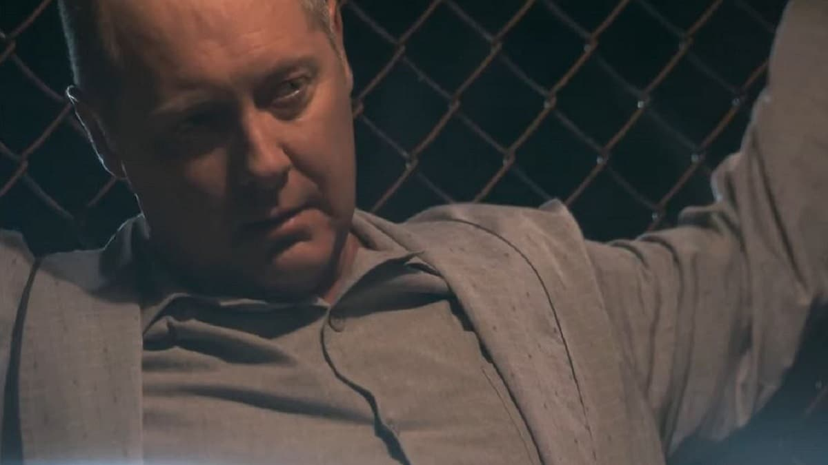 James Spader as Reddington in The Blacklist Season 7