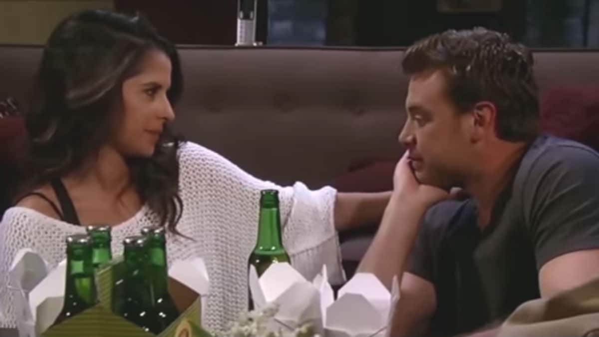 Kelly Monaco and Billy Miller as Sam and Drew on General Hospital.