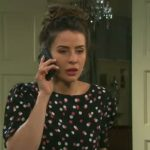 Linsey Godfrey as Sarah on Days of our Lives.