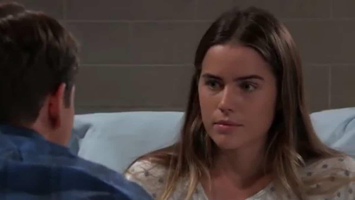 Sofia Mattsson on General Hospital as Sasha Gilmore.