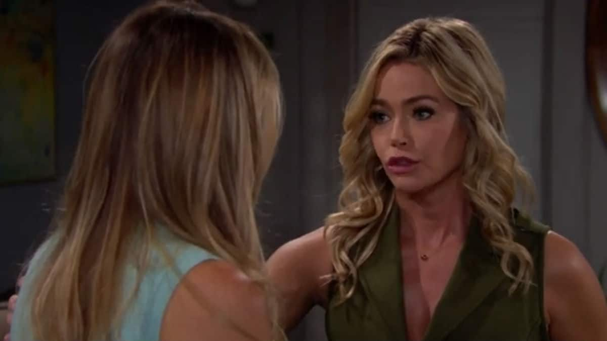 Denise Richards as Shauna on The Bold and the Beautiful.