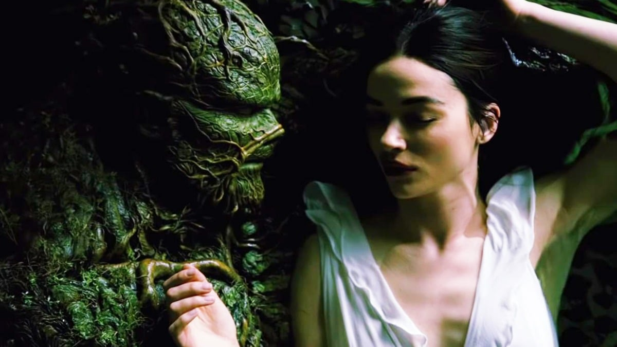 Swamp Thing and Abby Arcane