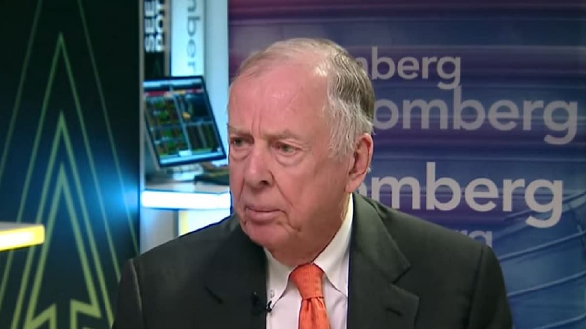 Oil tycoon T. Boone Pickens