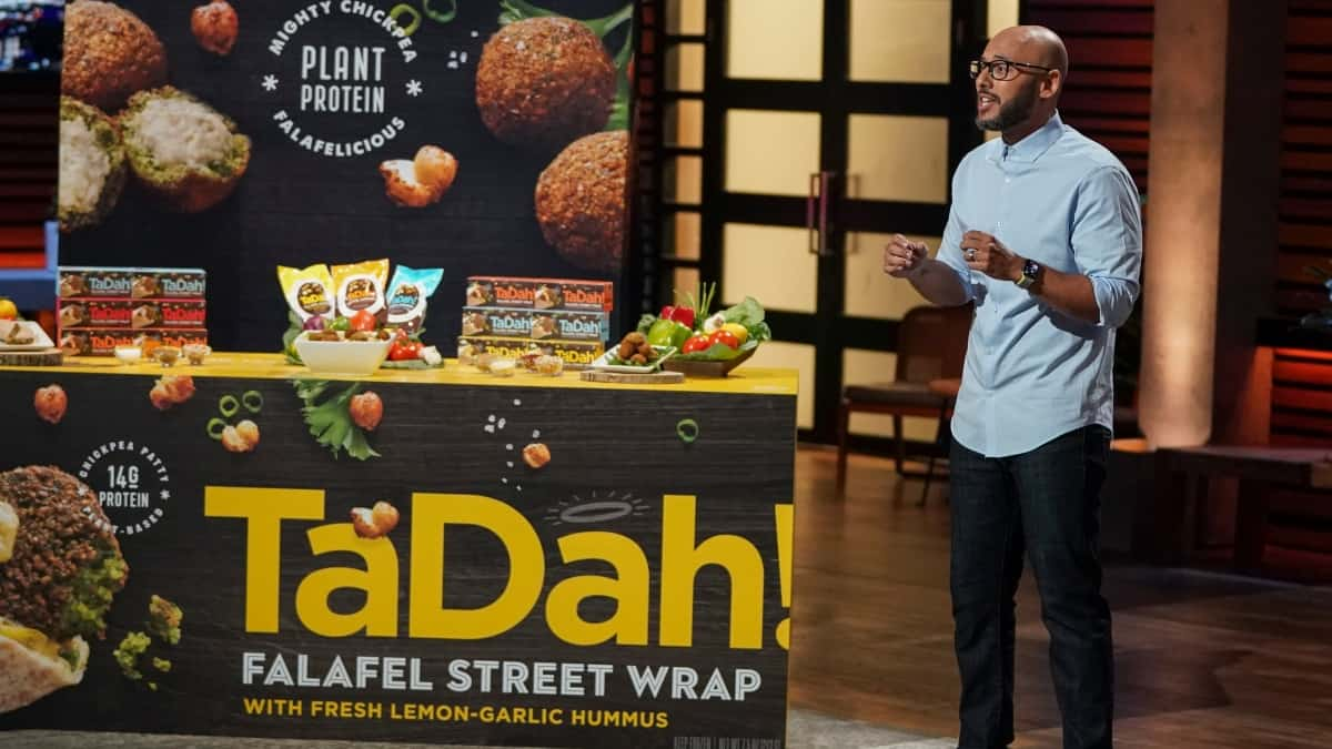 John Sorial presents TaDah! on Shark Tank