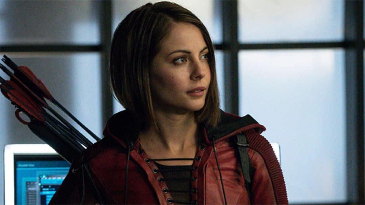 Willa Holland as Thea Queen on Arrow