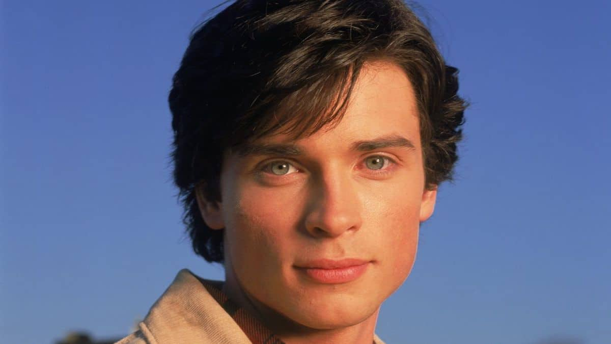 Tom Welling as Clark Kent on Smallville