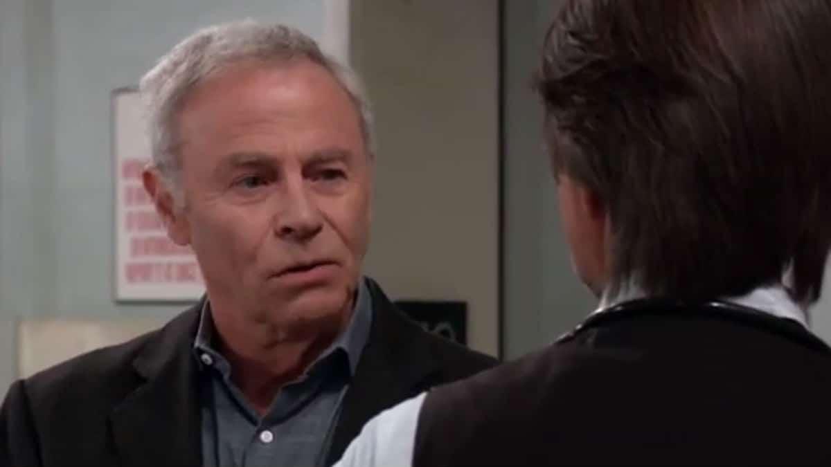 Tristan Rogers as Robert Scorpio on General Hospital.