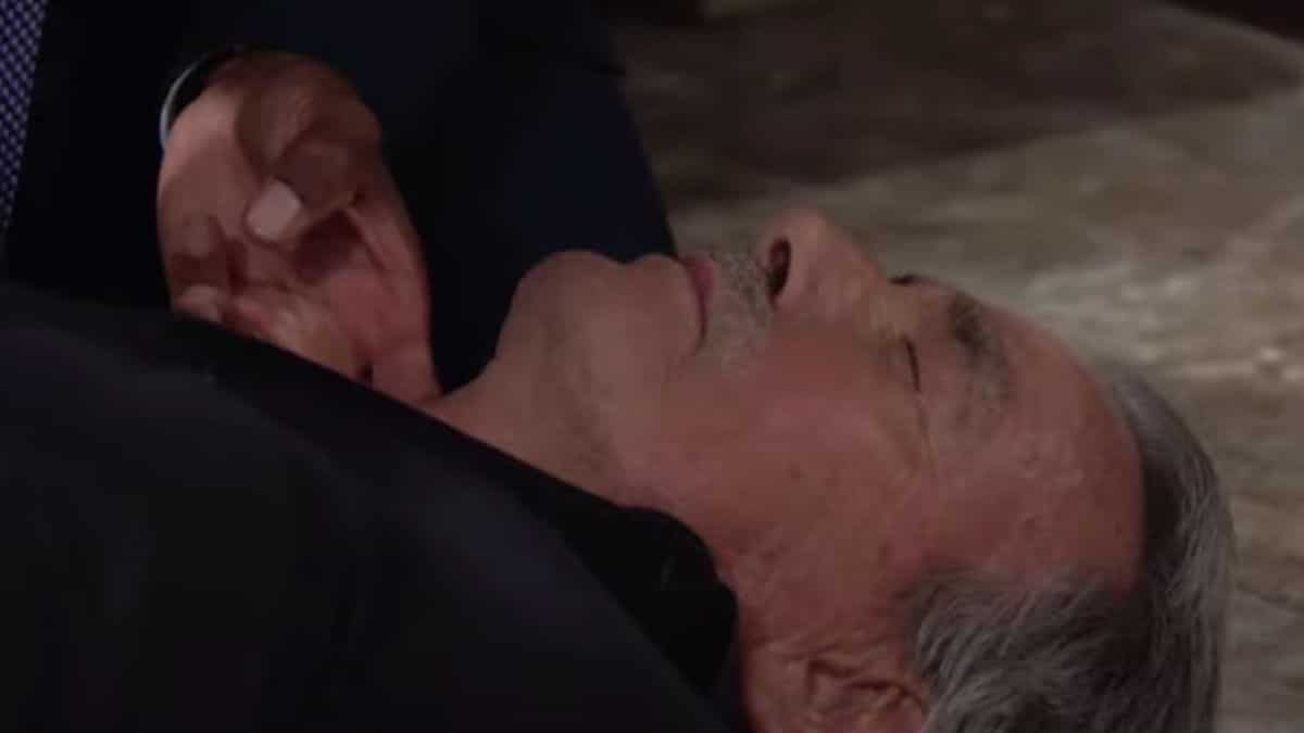 Victor appeared to have died on The Young and the Restless.
