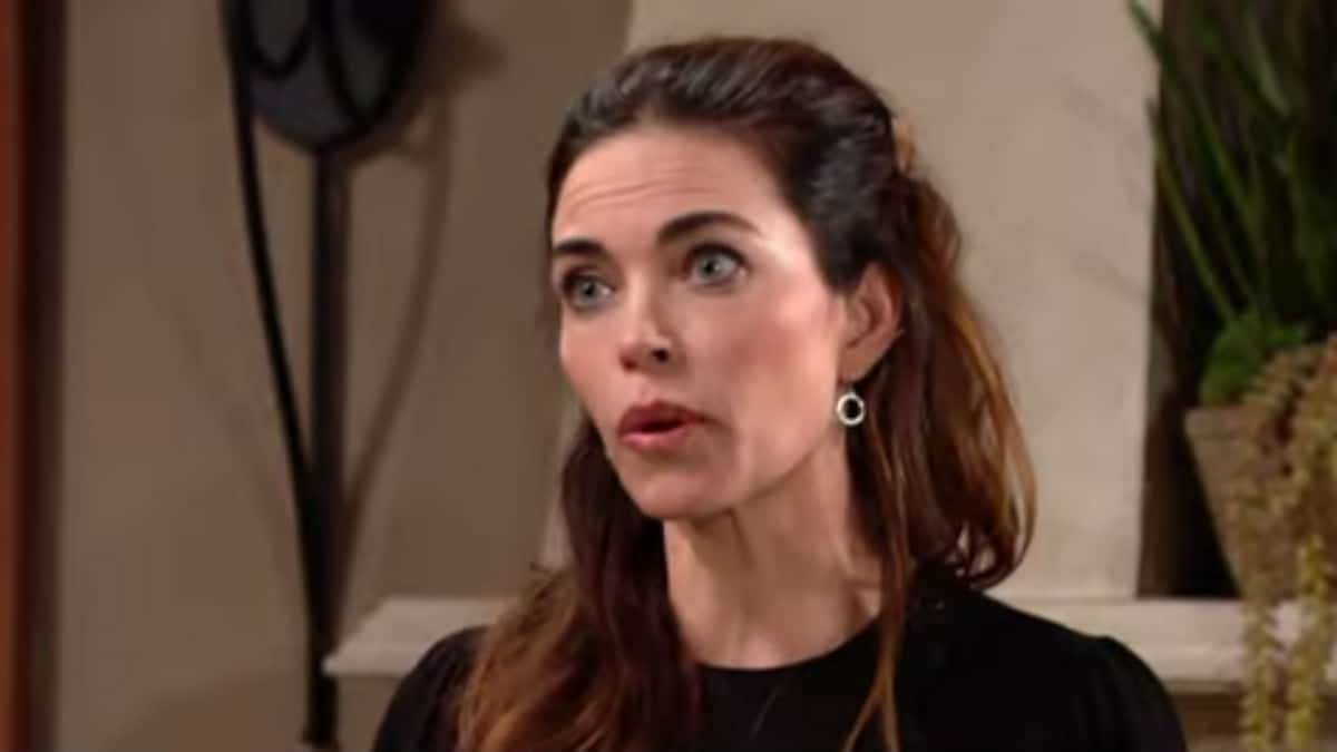 Amelia Heinle as Victoria on The Young and the Restless.