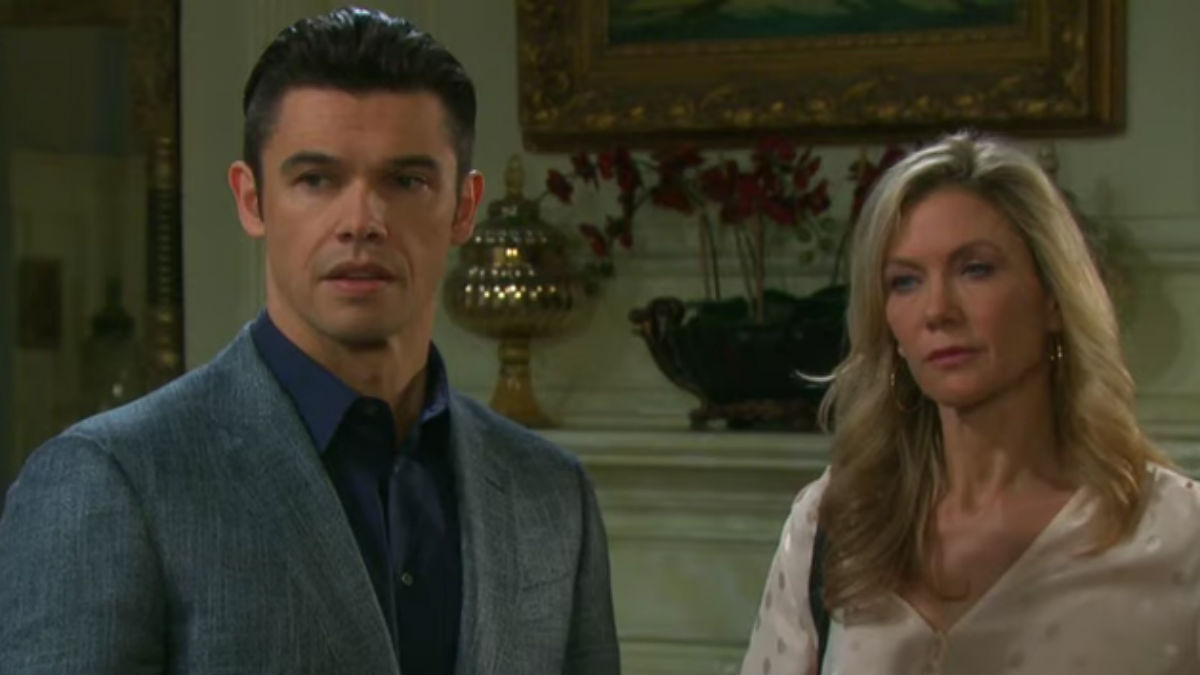 Xander and Kristen on Days of our Lives.