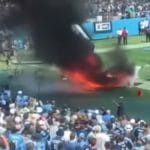 colts vs titans fire ahead of nfl game in tennessee